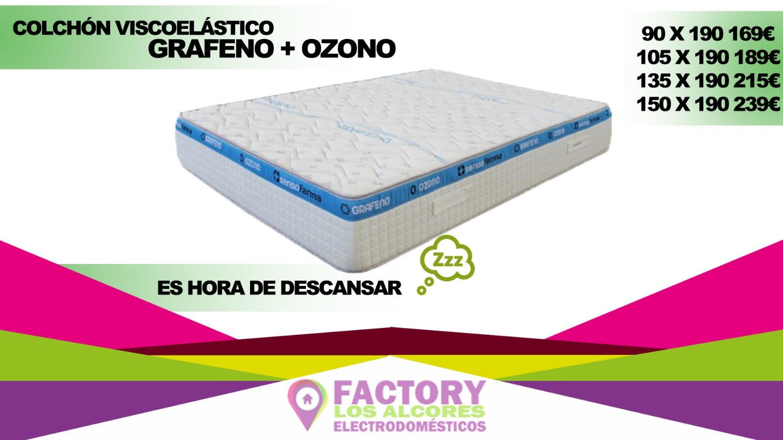 COLCHON GRAFENO OZONO