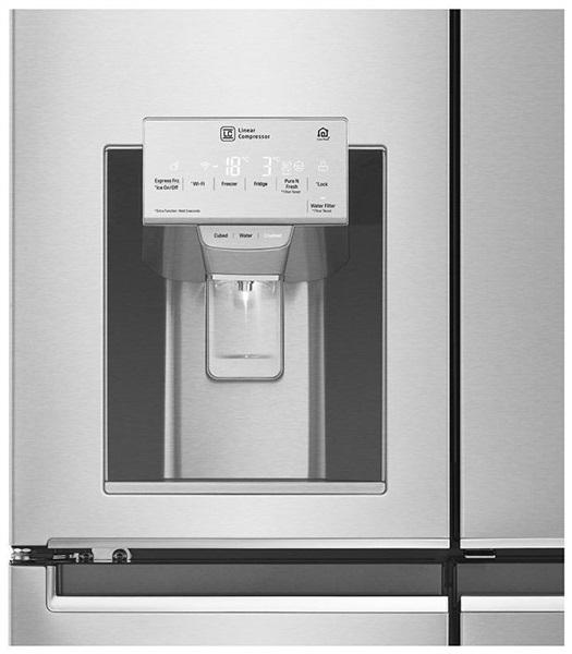 LG GMJ936NSHV - Frigorífico Americano Combi Door in Door 180x91cm A+