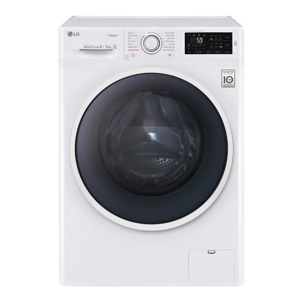 Lavadora secadora LG F4J6VG0W de 9 Kg y 1.400 rpm
