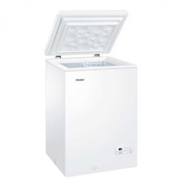 Haier HCE103R - Arcón congelador A+ de 103 litros frío estático
