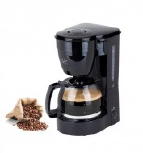 Cafetera JATA CA289, 12 tazas, goteo, negra