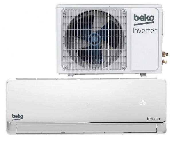 Aire Acondicionado Split Beko BEVPA090, A++, 2250F, Invert, R32