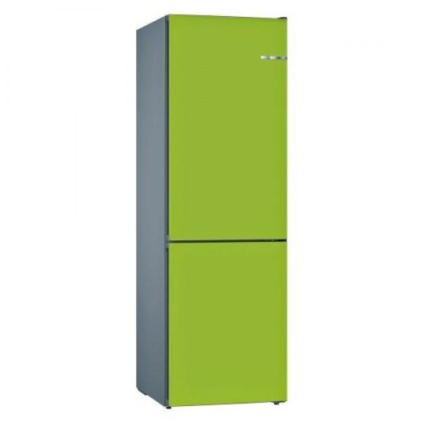 Frigorífico combi  Bosch KVN39IH3B 366 L No Frost 203 cm Clase A++ Puertas Verde lima