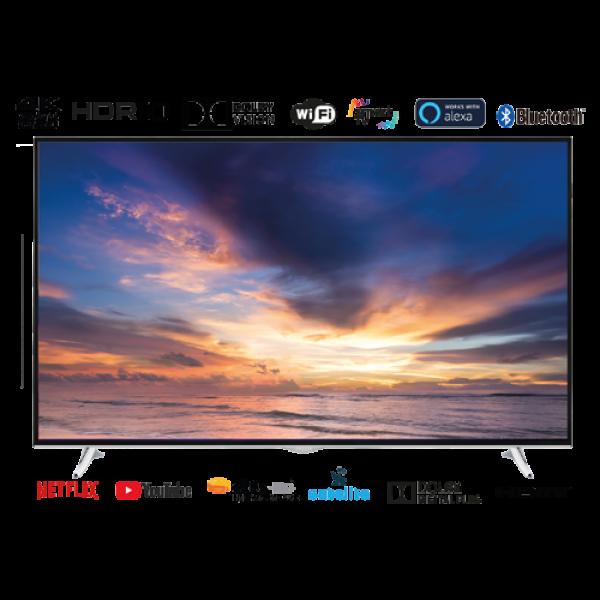 TELEVISOR 65''/UHD 4K Smart TV DVB-T/T2/C/S/S2 HEVC EAS ELECTRIC