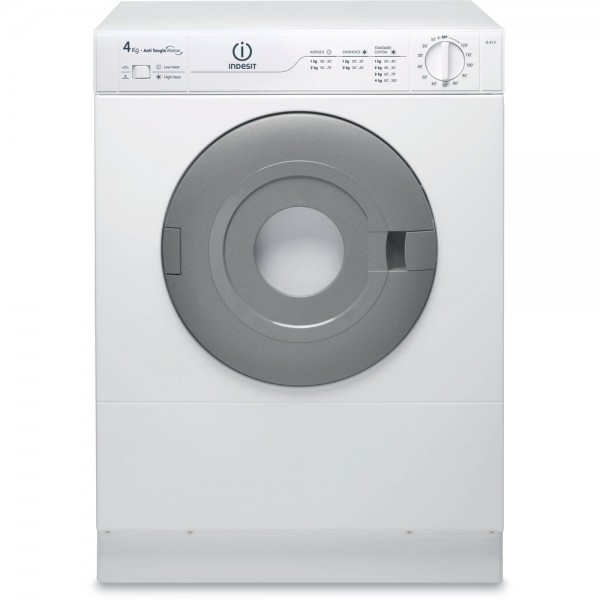Secadora Indesit IS41VEX, 4 KG, Ventilacion  (TARA ESTÉTICA)