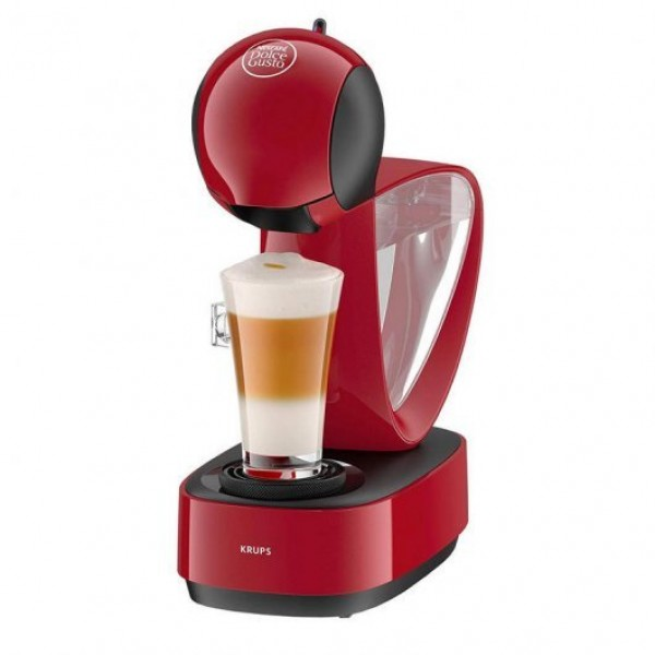Krups Dolce Gusto Infinissima Cafetera Manual Roja