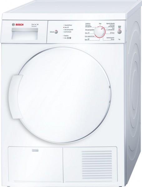 Secadora Bosch WTE84107EE, 7k, Condensacion
