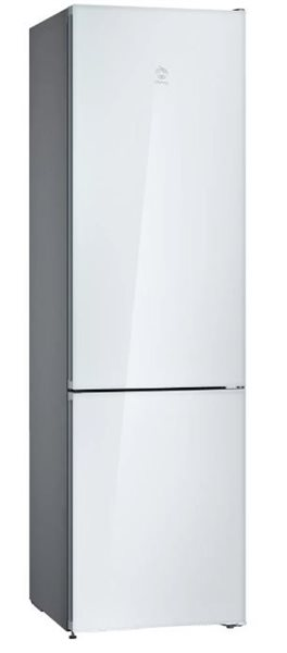 Balay 3KFE765WI  Frigorífico Combi NoFrost 203x60cm A++ Cristal Blanco