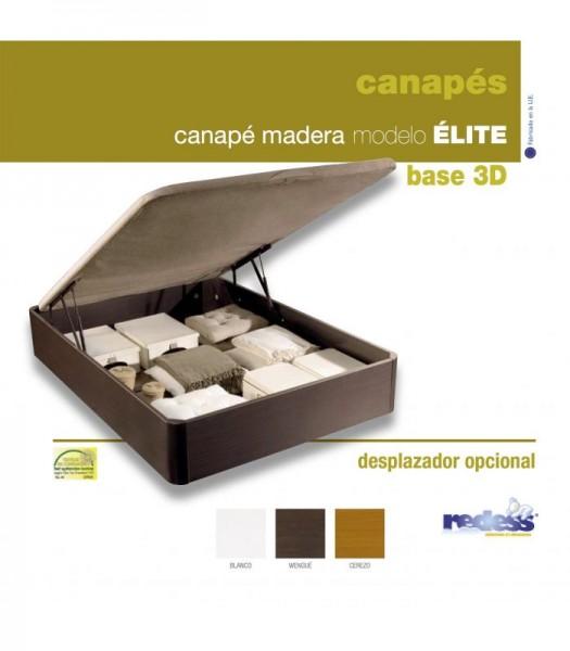 CANAPE MADERA 3D LINEA ÉLITE