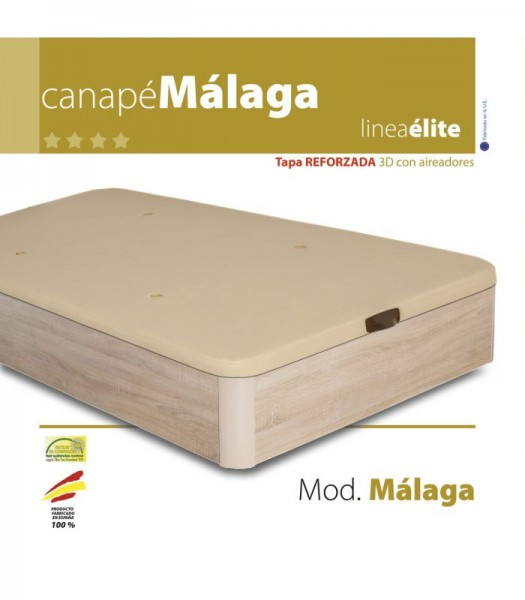 CANAPE MADERA MÁLAGA LINEA ELITE