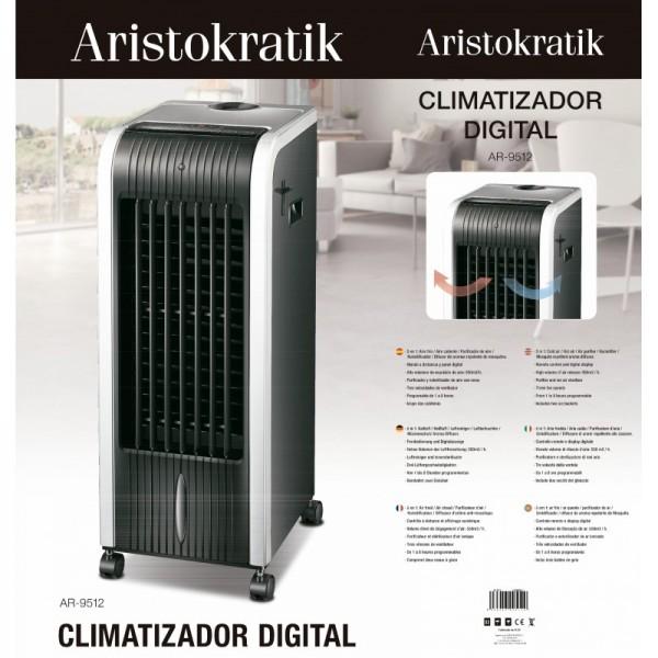 CLIMATIZADOR DIGITAL 5 EN 1ARISTOKRATIK AR-9512