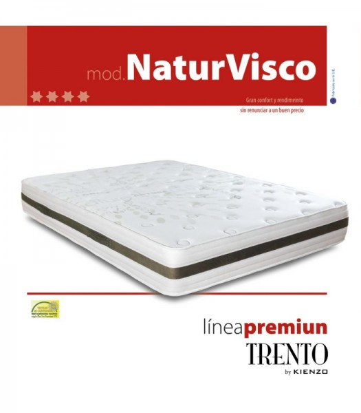 COLCHON NATURVISCO LINEA PREMIUM