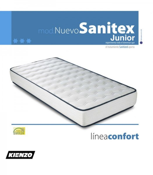 COLCHON SANITEX JUNIOR LINEA CONFORT