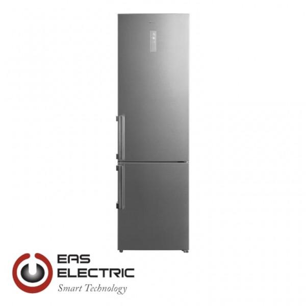 FRIGORIFICO COMBI EAS ELECTRIC EMC2010ZX NF 201X60 DISPLAY ZONA FRESH CLASE A+++ INOX