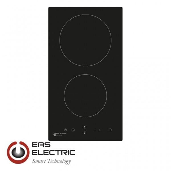 PLACA VITROCERAMICA EAS ELECTRIC 30CM 2 ZONAS CONTROL TACTIL Ref. EMCH029-2F