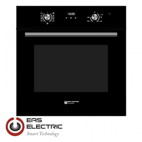 HORNO EAS ELECTRIC MULTIFUNCION 8 FUNC 70L DISPLAY ELECTRONICO CRISTAL NEGRO Ref. EMV70DGN