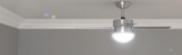 Ventilador de techo con luz FORCESILENCE AERO 450