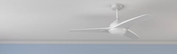Ventilador de techo con luz y mando a distancia FORCESILENCE AERO 460
