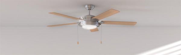 Ventilador de techo con luz FORCESILENCE AERO 540