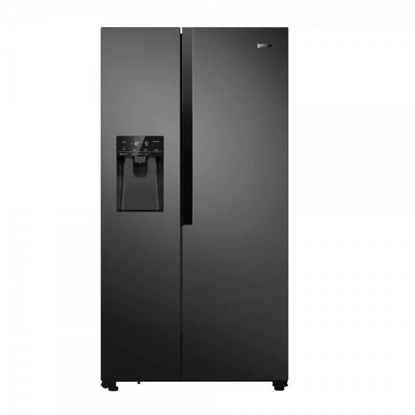 Frigorifico Americano Gorenje NRS9182VB negro con dispensador de agua