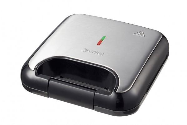 GRUNKEL SAN-13NGX Sandwichera grill. Capacidad para 2 sandwiches. Detalles en acero inoxid