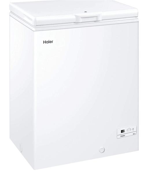 Haier HCE143F  Arcón Congelador 84.5x72 Cm 142 Litros Clase A+ Blanco