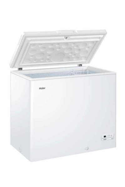 Haier HCE203R  Arcón congelador de 203 litros 94 x 84,5 x 55 cm A+