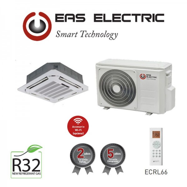 Aire Acondicionado Cassette Eas Electric ECM105VK 9073 FRIGORIAS A++