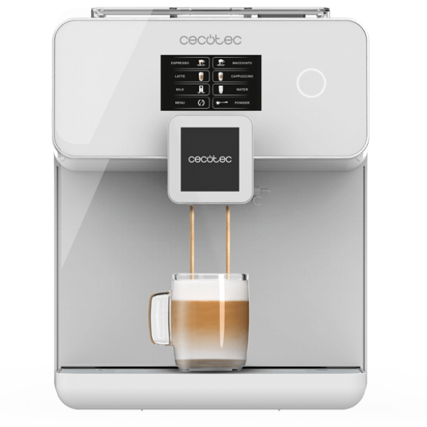 Cafetera superatomática POWER MATIC-CCINO 8000 TOUCH SERIE BIANCA