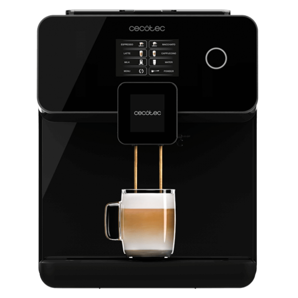 Cafetera superatomática POWER MATIC-CCINO 8000 TOUCH SERIE NERA
