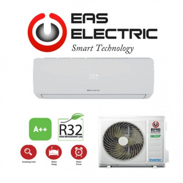 SPLIT EAS ELECTRIC R32 BASIC 35 CLASE A++ 2924 FRIGORIAS