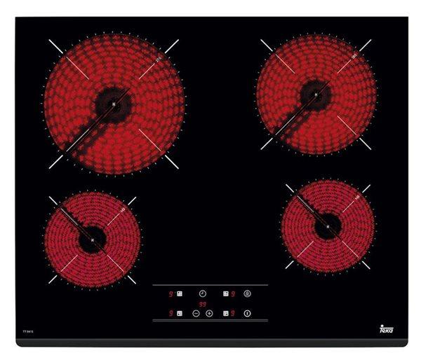 Teka 40239040 - Placa Vitrocerámica TZ PRO 6415 4 Zonas 60 Cm Negra