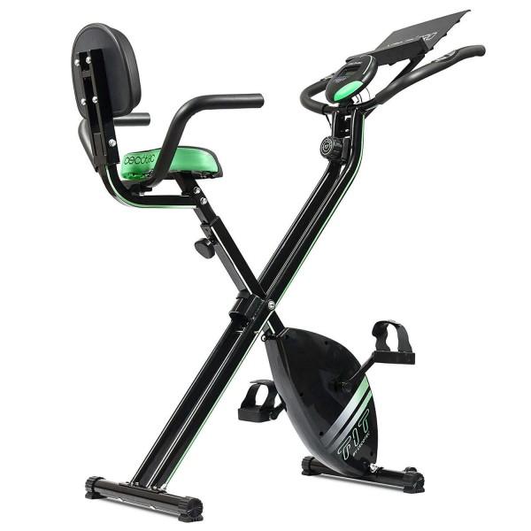Bicicleta estática plegable con respaldo X-BIKE PRO