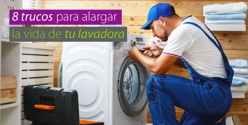 8 Trucos para alargar la vida de tu lavadora