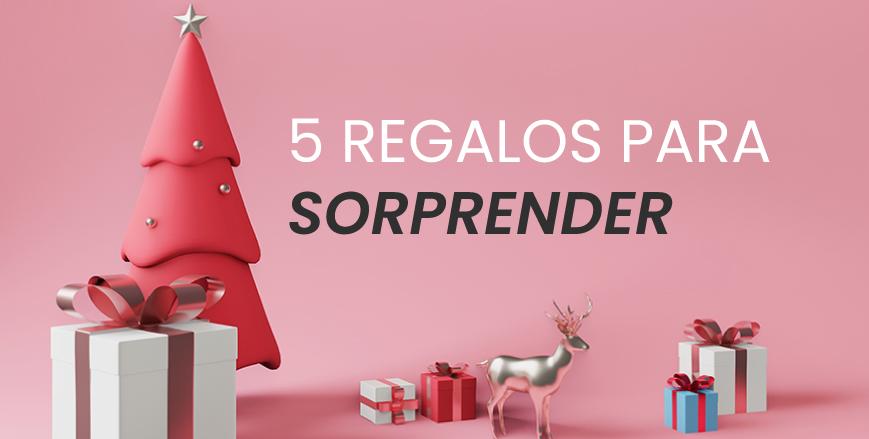 5 regalos con los triunfarás estas navidades